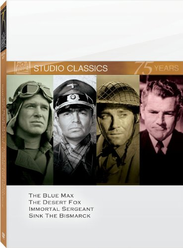 20th Century Fox Studio Classics (The Blue Max / The Desert Fox / Immortal Sergeant / Sink the Bismarck)