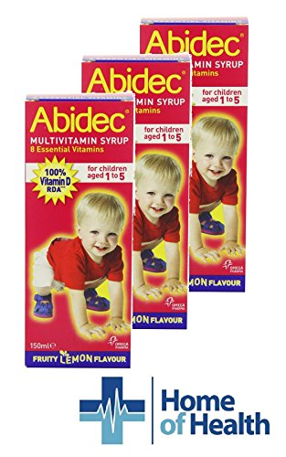 Abidec Multivitamin Syrup for Children and Babies 150ml **3 PACK DEAL**