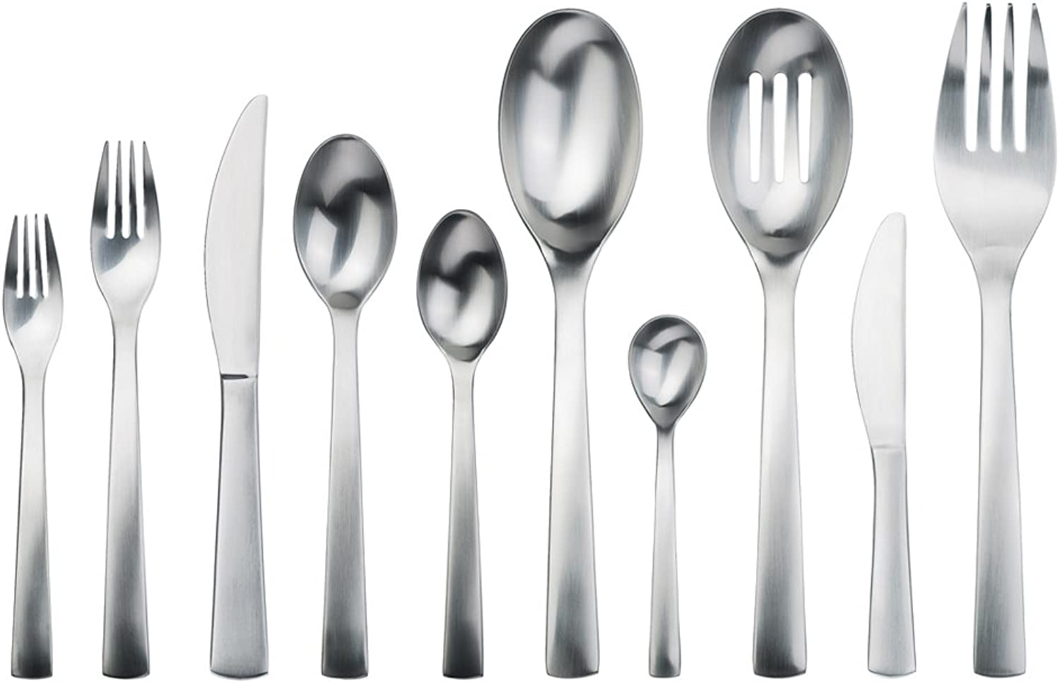 Gourmet Settings Carry On 45-Piece Flatware Set, Service for 8