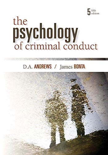 The Psychology of Criminal Conduct, Fifth Edition