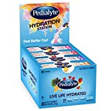 Pedialyte Hydration Station Multipack, Electrolyte Hydration Drink, 0.6-oz Electrolyte Powder Packets, 80 Count
