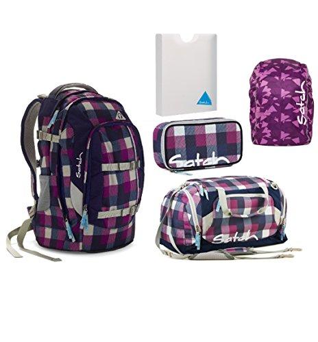 Satch Pack Berry Carry Schulrucksack Set 5tlg.