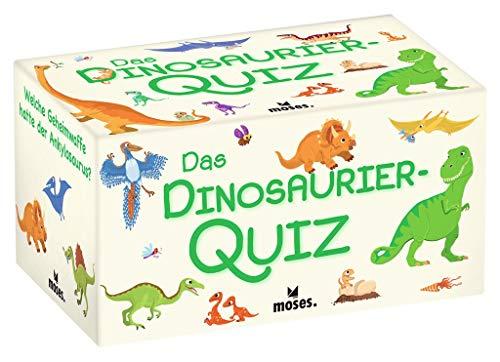 Moses. Das Dinosaurier-Quiz l Kinderquiz für kleine Dino-Fans l Für Kinder ab 8 Jahren und 2-5 Spieler