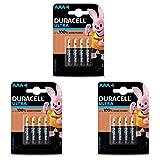 Duracell Ultra Alkaline AAA Batteries - 12 Pieces