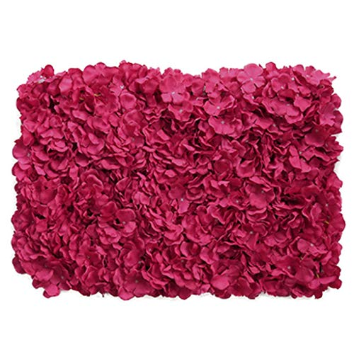 PING- Artificial Flower Wall Panel 40x60cm, The Beautiful and Romantic Silk Flower Petal Panel is...