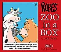 Rubes Zoo in a Box 2021 Calendar