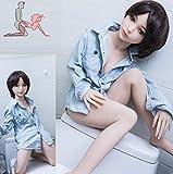 Realista 100cm Muñeca para hombres figuras femeninas realistas no es un juguete para los niños Muñeca de amor de silicona Real muñeca- 16KG (100cm)