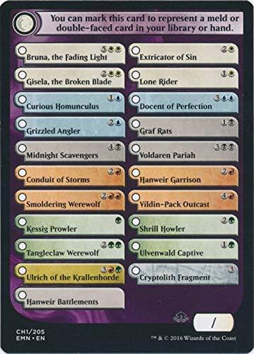 Magic: the Gathering - Eldritch Moon Checklist Card (CH1/205) - Eldritch Moon