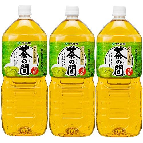 伊藤園 やわらぎ品質 茶の間 ペット 2000ml×3本