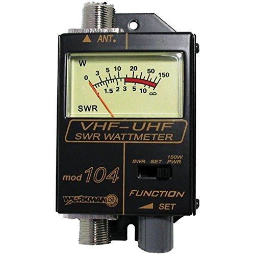 Workman 104 SWR / Power Meter for VHF / UHF Ham / CB Radio