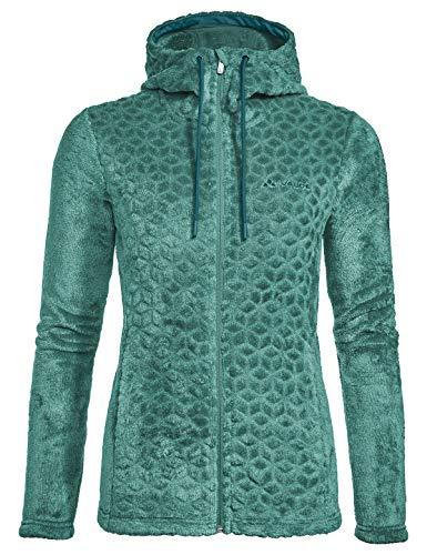 Preisvergleich Produktbild VAUDE Damen Women's Skomer Soft Fleece Jacket Jacke,  Nickel Green,  38
