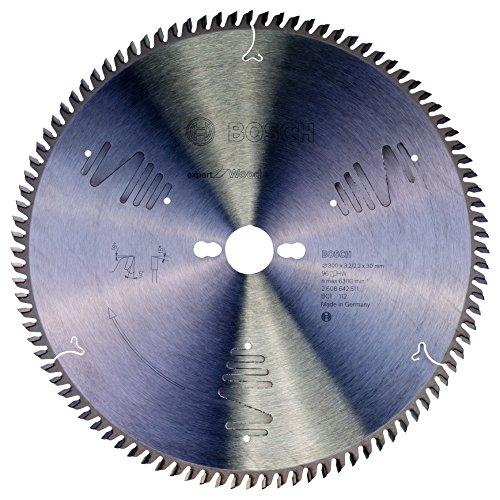 Bosch 2 608 642 511 - Hoja de sierra circular Expert for Wood (300 x 30 x 3,2 mm, 96)