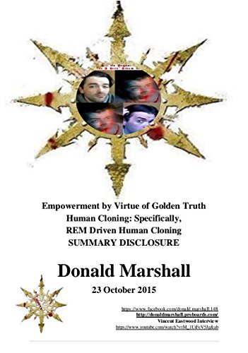 Empowerment by Virtue of Golden Truth. Human Cloning: Specifically, REM Driven Human Cloning SUMMARY DISCLOSURE