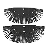 Motorcycle Modification Parts, Floorboard Fringe, A Long Service Life 2Pcs for Motorcycle Shop Home Home Motorcycle Repair Shop