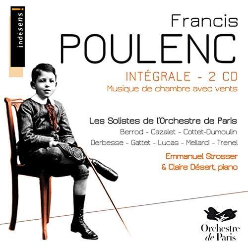 Les Solistes de l'Orchestre de Paris, Claire Désert & EMMANUEL STROSSER