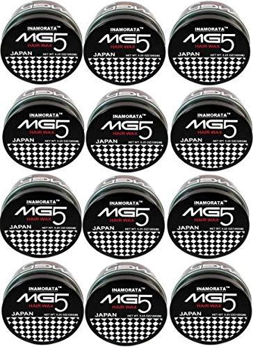 EDDNA MG5 HAIR STYLING WAX, HAIR WAX, HAIR GEL, HAIR STYLING CREAM, MG5 HAIR WAX FOR MEN AND WOMEN, PACK OF 12