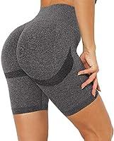 DUROFIT Anticellulite Leggings Sportivi Donna Vita Alta Pantaloni Sportivi Donna Yoga Pants Push Up per Correre Fitness