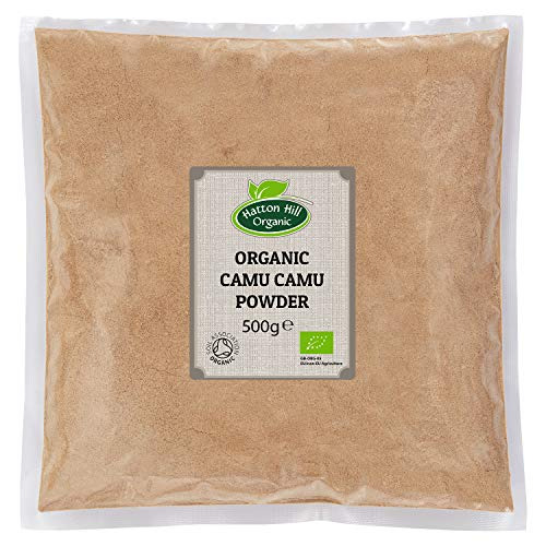 Organic Camu Camu Powder 500g by Hatton Hill Organic - Free UK Delivery