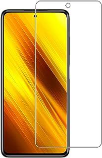 For POCO X3 NFC ガラスフィルム For POCO X3 NFC フィルム 保護フィルム 旭硝子素材製 強化ガラス 液晶 ガラス ケース フィルム 貼り付け簡単 硬度9H 防指紋 気泡ゼロ