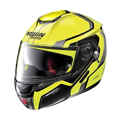 Nolan Herren N90-2 Helmet, gelb, XL