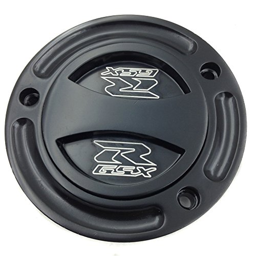 XKMT- Motorcycle Black Keyless Gas Cap Twist Off Fuel Tank Cap For 2004-2009
