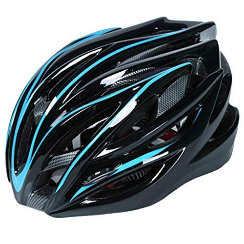 Huai1988 Fietshelm voor volwassenen, MTB-helm, mountainbike, helm Urban fietshelm, verstelbare fietshelm met afneembare bekleding voor volwassenen, EPS-lichaam, voor dames en heren en kinderen