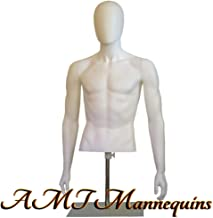 Best male mannequin head and torso Reviews