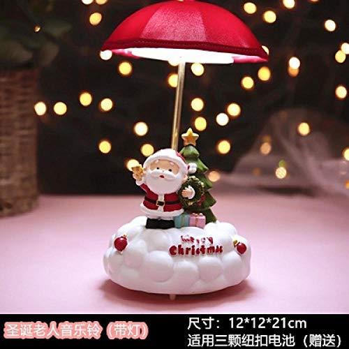 schlaflicht Romantische rotierende Hasen-Nachttischlampe-Weihnachtsmann nachtlicht steckdose nachtlicht steckdose bewegungsmelder stilllicht
