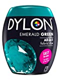 Dylon Dye Pods Textilfärbemittel für die Waschmaschine, 350 g, Smaragdgrün
