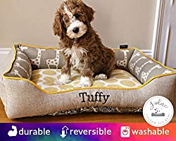 embroidered gift ideas ~ pet bed