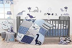 1. Bedtime Originals Roar Dinosaur 3 Piece Crib Bedding Set