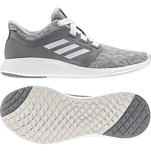 adidas Women's Edge Lux 3 Running Shoe, grey/cloud white/silver metallic, 8.5 M US 8