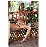 DNJKSA Candice Swanepoel Poster Sexy Model Bilder Poster