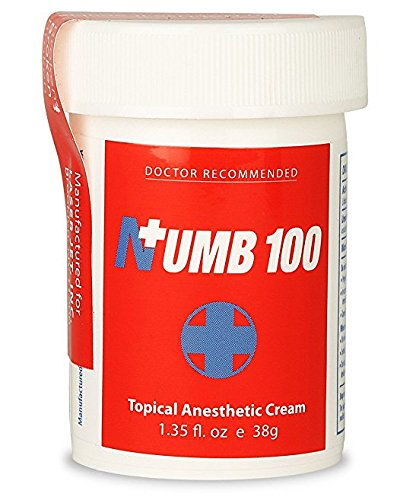 Numb 100 Topical Anesthetic Cream Review
