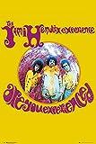 GB Eye, Jimi Hendrix, Erlebnis, Maxi-Poster