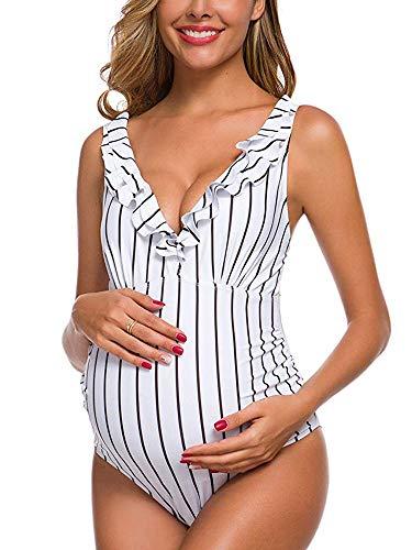 NUUR Traje de baño Mujer Maternidad Premamá para Mujer Bañador Tankini Embarazada Bikini