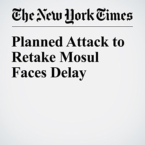 Planned Attack to Retake Mosul Faces Delay audiobook cover art
