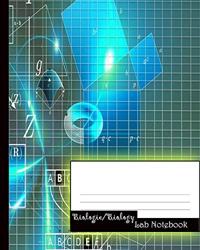 Biologie/Biology: Lab Notebook / Notizbuch für Studenten / Biologie-Notizbuch (Vol.8)