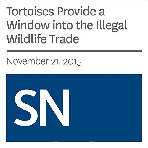 Tortoises Provide a Window into the Illegal Wildlife Trade audiobook cover art