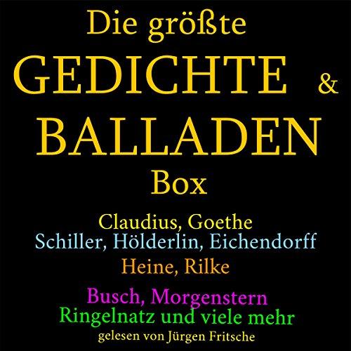 Die größte Gedichte- & Balladen-Box Titelbild