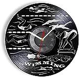 ZZBBQ Reloj de Pared Entrenamiento de natación Buceo Competencia de...