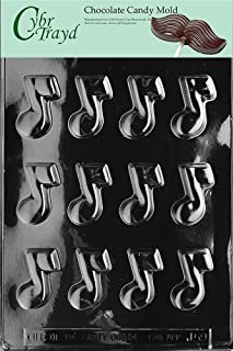 chocolate music notes