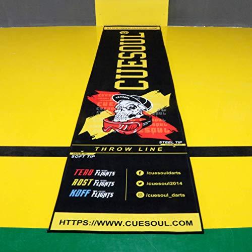 CUESOUL Heavy Duty Darts Mat Includes Both...