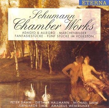 SCHUMANN, R.: 5 Pieces in Folk Style / Marchenbilder / Fantasiestucke / Adagio and Allegro (Simm, Damm, Hallmann, Timm, Webersinke)