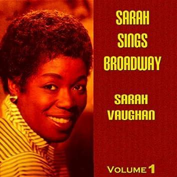 Sarah Sings Broadway Vol. 1
