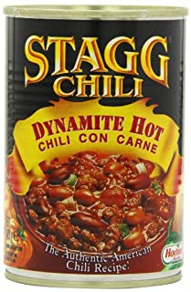 STAGG Chili Dynamite Hot Chili Con Carne 400 g (Pack of 6) (B005EM319Q) | Amazon price tracker / tracking, Amazon price history charts, Amazon price watches, Amazon price drop alerts