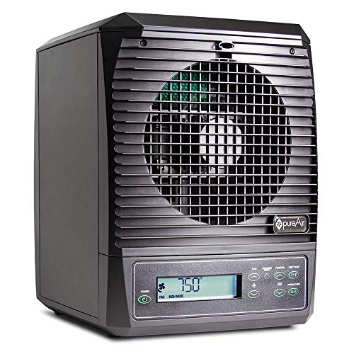 Greentech Environmental pureAir 3000 - Portable Air Purifier and Air Cleaner, Air Purifiers for Home, Office, and Bedroom, For Spaces Up to 3000 Square Feet, Neutralizes Tough Odors, Easy Set Up