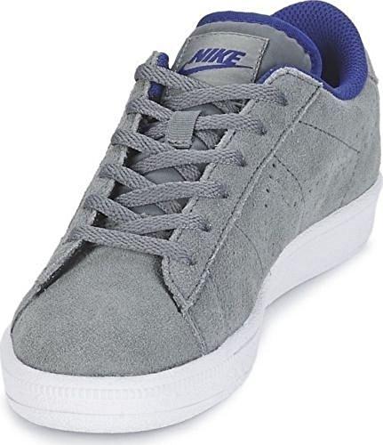 Nike Tennis Classic (GS), Zapatillas de Tenis para Niños, Gris/Gris (Cool Grey/Cl Gry-DP Ryl Bl-Wht), 39 EU