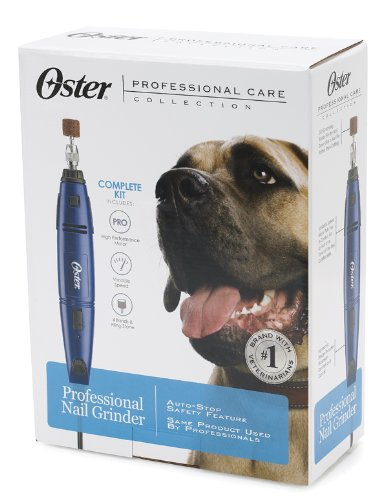 Oster Professional Corded Pet Nail Grinder Kit, Variable Speed (078129-650-000)