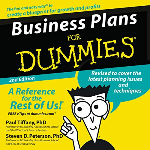 Couverture de Business Plans for Dummies, Second Edition